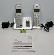 Panasonic Bluetooth Cordless Phone System KX-TGE260 2-Handset Tested