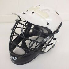 Cascade Lacrosse Helmet in White w/Cage & Chin Strap Size XS Fast Shipping