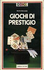 Giochi di prestigio. Martin Michalski. 1984. 154 pp ill.