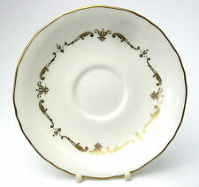 Royal Worcester GOLD CHANTILLY Tea Saucer