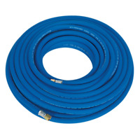 """Sealey Air Hose 20m x 8mm with 1/4""""BSP Unions Extra-Heavy-Duty - AH20R"""