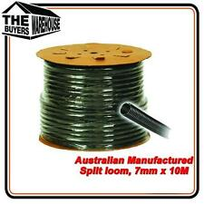100 Premium Australian Made Split Loom Tubing Wire 7mm Conduit Cable 10m UV ADR