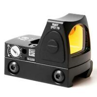 20mm Mini RMR Red Dot Sight Collimator Reflex Sight Scope Mount Outdoor Hunting