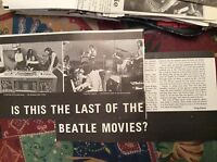 m12n ephemera 1970 film article the last beatles movie