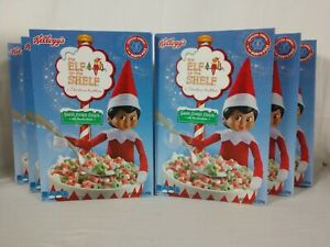 Lot of 6 - ELF on the Shelf - Sugar Cookie Cereal w/ Marshmallows 8.1oz Kellogg