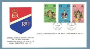 1977 NEW HEBRIDES SILVER JUBILEE ROYAL COMMONWEALTH SOCIETY FDC