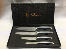 Wakoli 4pcs Damascus Knife Set - Japanese Damascus Steel Vg-10