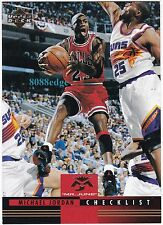 "1993-94 UPPER DECK EUROPEAN ""MR. JUNE"": MICHAEL JORDAN #175 ITALIAN ""CHECKLIST"""