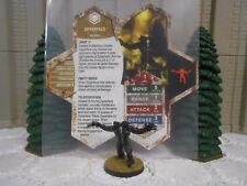 Heroscape Custom Zipperface Double Sided Card & Figure w/ Sleeve Valkrill