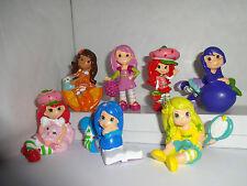 Strawberry Shortcake y amigos Cake Toppers 7 figuras de plástico a estrenar