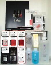 Brand New CND SHELLAC CHIC TRIAL Kit 2016 Gel Polish Intro Kit On Sale!