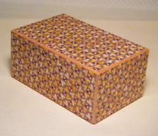 Yosegi zaiku SIZE5 12step+1 Kirichigai Japanese Puzzle hakone wood