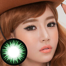 Lentilles de Contact Vert Color Contact Circle Lenses Dia14.2mm BeSGr