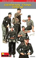 MiniArt 1/35 German Tank Crew w/Weapons & Equipment (6 figures)