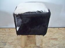 Hocker Sitzhocker   mit Ziegenfellbezug  Gutmann Factory