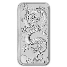Australia 2019 - 1 once argent dragon bar silver .999 - Perth Mint 1 oz