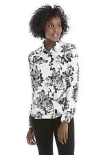 Women's Concealed Plaquet Blouse by Rekucci Collection - Size: 10