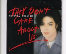 CD MICHAEL JACKSON they don't care about us CARDSLEEVE 1996 EX (B5247)
