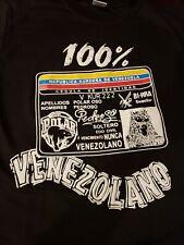 100% Venezuelan/Venezolano  T-shirt Polar Beer Small/Medium Black RARE Venezuela
