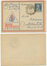 36914 - SST: Cottbus, Institut für Philatelie, 1.3.1948 - Ans Postmuseum Berlin