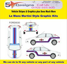 FORD Focus 5Dr 2008-11 Le Mans Martini Race Rally Logo Graphics Kit 30