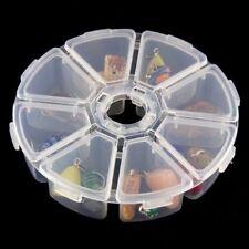 8 Fächer Plastik Aufbewahrungsbox Plastik Schmuckschatulle Schmuckkästchen