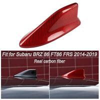 Wroadavee Carbon Fiber Shark Fin Antenna Auto Roof Cover for Toyota 86 GT86 Scion FR-S 2012-2019