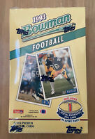 VINTAGE 1993 BOWMAN NFL FOOTBALL SEALED UNOPENED WAX BOX - 24 PACKS - NOT TOPPS