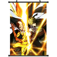 Anime One Punch Man Wall Scroll Poster cosplay 2949