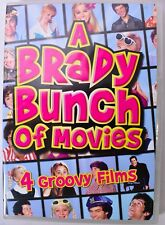 A BRADY BUNCH OF MOVIES (DVD, 4-Disc Set, 2011) 4 Groovy Films (VG)