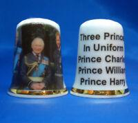 Rupert Bear 100 Years Old Birchcroft China Thimble Free Dome Box