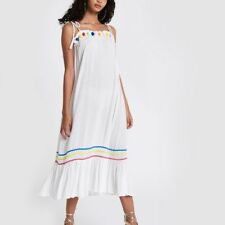37dfab4dc5 Ex River Island RESORT White Beach Dress Size XS - L