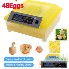 48 Eggs Digital Incubator with Fully Automatic Egg Turning and Humidity Control*
