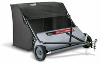 """Ohio Steel 42"""" Lawn Sweeper Tow Leaf Bag Tractor Mower Catcher Grass Bagger"""