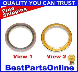 Crankshaft Rear Main Seal for 2001-2019 Chevy GMC Ref. 710892 97209342 05745875