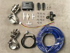 2x 60mm WIRELESS Exhaust Controller Vacuum Valve FOR 930 964 993 996 986 911