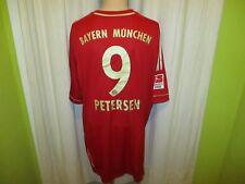 """FC Bayern München Adidas Heim Trikot 2011/12 """"-T---"""" + Nr.9 Petersen Gr.XXXL Neu"""