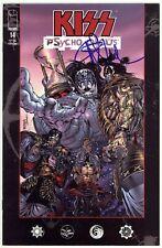 KISS Psycho Circus (1997) #14 1st Print Image Signed Angel Medina No COA VF/NM