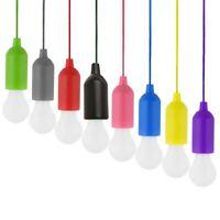 8 StüCk Bunte GlüHbirne Kronleuchter Tragbare LED Zug Schnur GlüHbirne Außen r1e