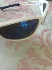 Bloc Sunglasses Unisex Sport Running Cycling White Blue