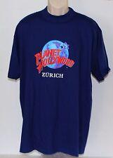 Planet Hollywood Zurich Men's Large Blue T Shirt 1991