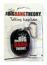 The Big Bang Theory Talking Keychain Keyring - 3 Famous Phrases