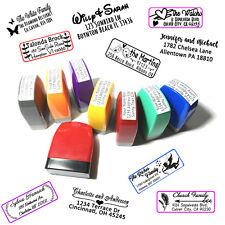 Personalized Self Inking Return Address Stamp Creative Design Monogram Handmade