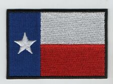 Embroidered TEXAS - Large Flag Iron on Sew on Patch HIGH QUALITY APPLIQUE