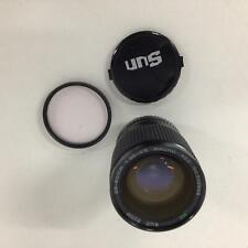 Sun Zoom 28-80mm 1:3.5-4.5 Macro Lens With 62mm Hoya Skylight (1b) Filter #568