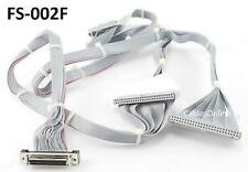 "57"" SCSI 50-Pin IDC50 2-Drive Cable w/ External HPDB50 Female Connector"