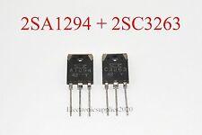 1pair(2pcs) Original 2SA1294 & 2SC3263 Sanken Transistor A1294 & C3263, USA
