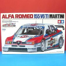 Tamiya 1/24 Alfa Romeo 155 V6 TI [Martini] DTM model kit #24176