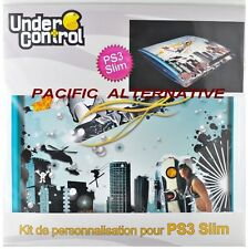 Skin autocollant UNDER CONTROL attitude playstation 3 PS3 slim custom stickers