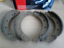 REAR BRAKE SHOES SET of 4  for HILLMAN IMP CHAMOIS STILETTO etc BORG & BECK